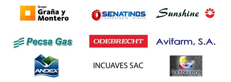 Clientes empresa de transporte de carga terrestre Perú